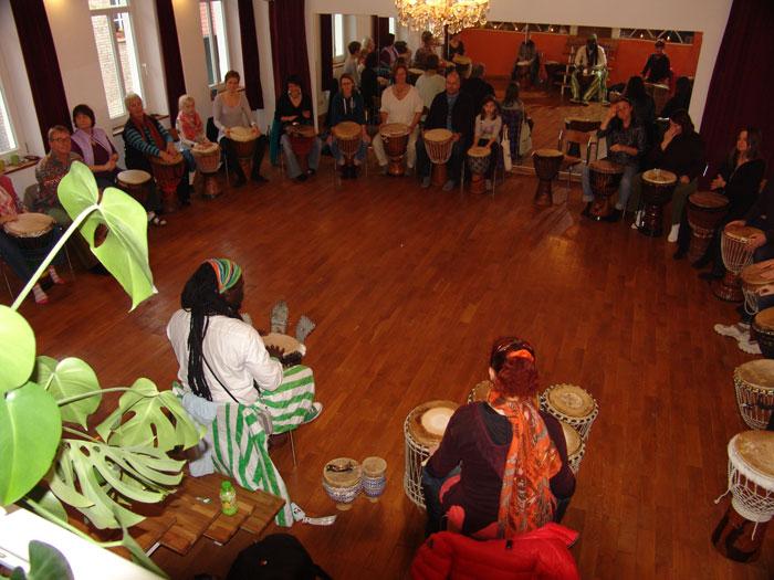 Trommel- und Tanz-Workshop